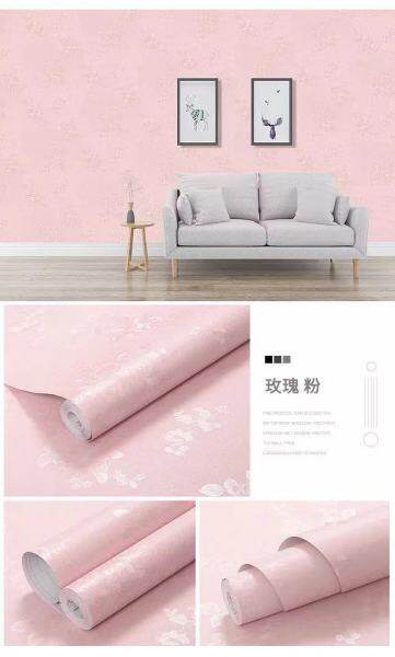 (Ready Stock) HYLL 2D Wallpaper Wall Stickers Self Adhesive Waterproof 45cm*1000cm