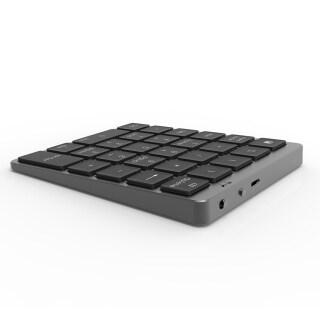 Bàn Phím Bluetooth Số S960, Cấu Trúc Chìa Khóa Kéo Nắp Chụp Al-top CNC Pin Lithium Có Thể Sạc Lại Dành Cho Máy Tính PC Laptop thumbnail