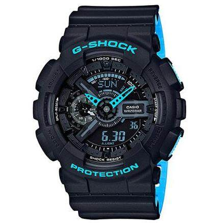SPECIAL PROMOTION G..SHOCK_GA110 DUAL TIME RUBBER STRAP WATCH FOR MEN Malaysia