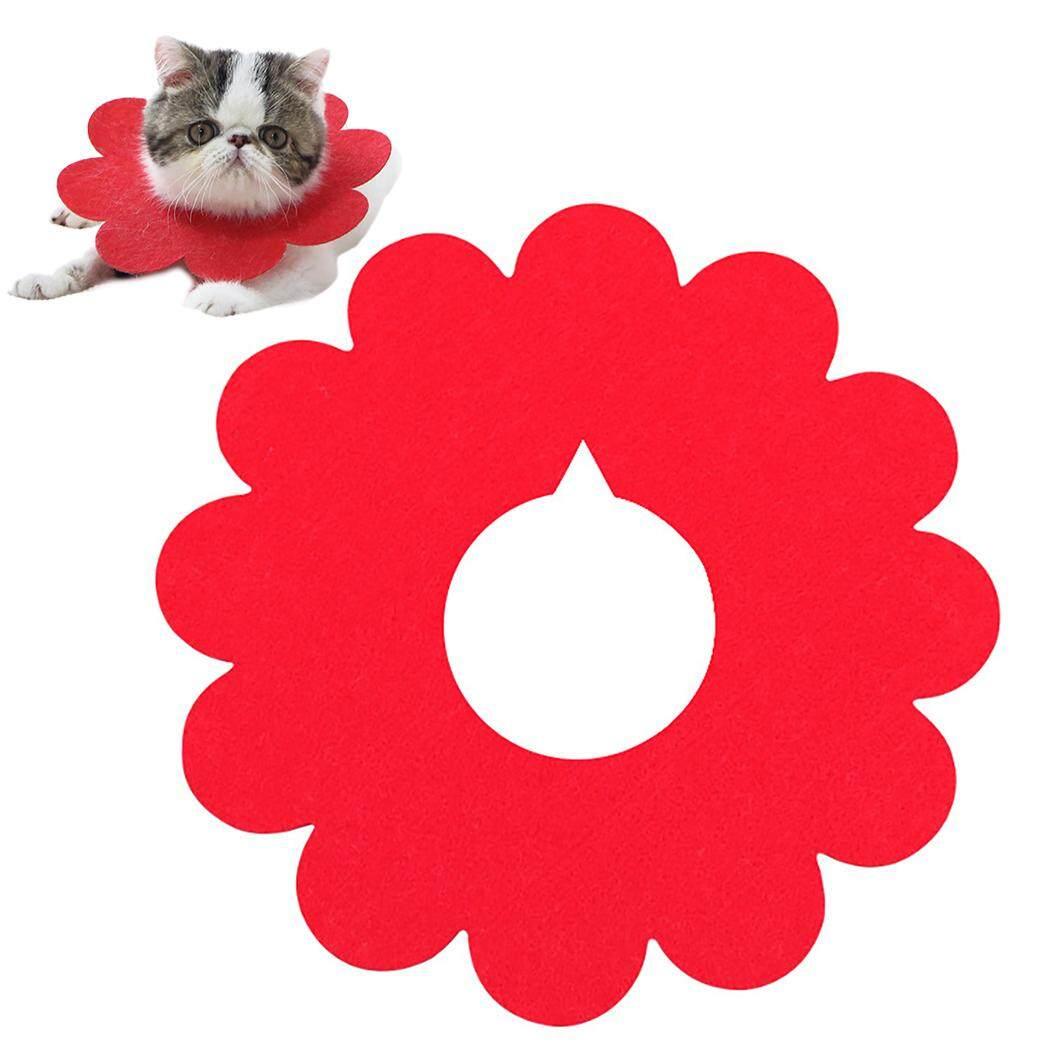 Thú Cưng Phục Hồi Cổ Dễ Thương Hình Hoa Cát Phục Hồi Cổ Nơ Đeo Cổ cho Mèo Con 8
