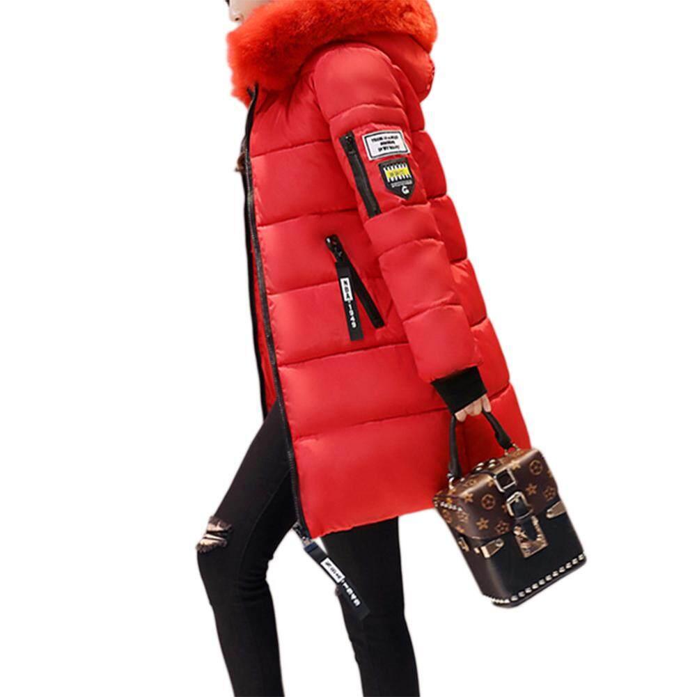 Áo Khoác Cotton Nữ Siêu Sao Mall, Áo Khoác Ấm Mùa Đông Áo Khoác Mỏng Cổ Nhung Lông