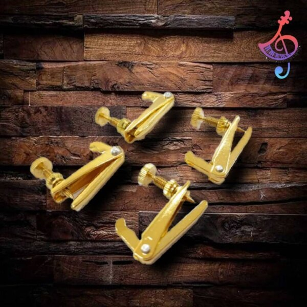 Full 4/4 Size Violin Fine Tuners Adjusters for Violin Parts Golden Malaysia