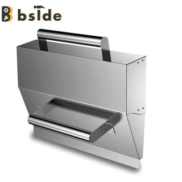 [Bside Tool Store] Scraper Putty Cleaning Filling Tool Plaster Scraper Cement Wall Stainless Steel Plasterer Tools