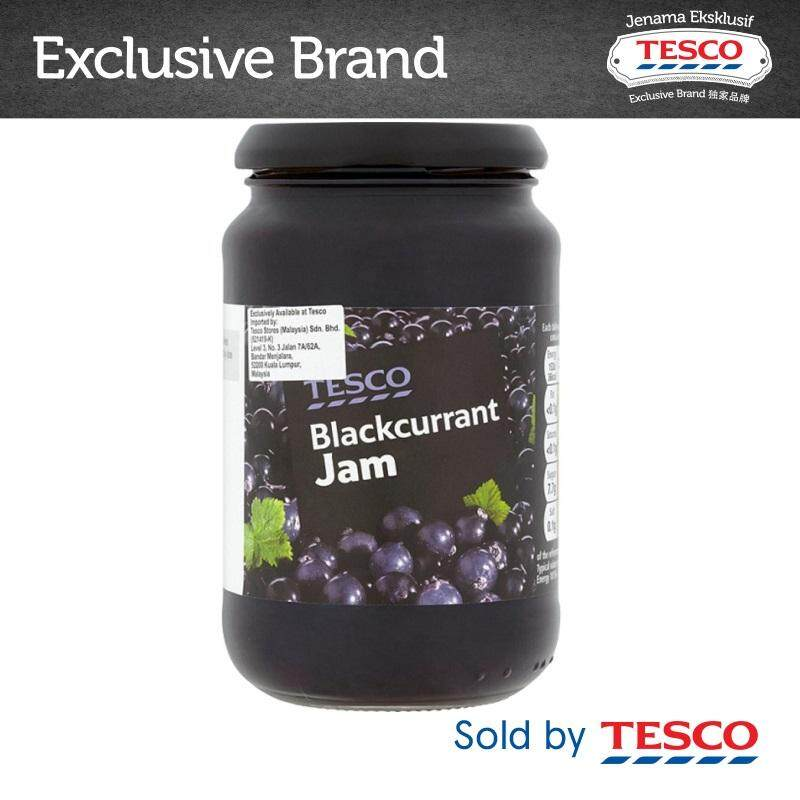 Tesco Blackcurrant Jam (454g) By Tesco Groceries.