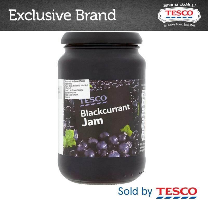 Tesco Blackcurrant Jam (454g) By Tesco Groceries.