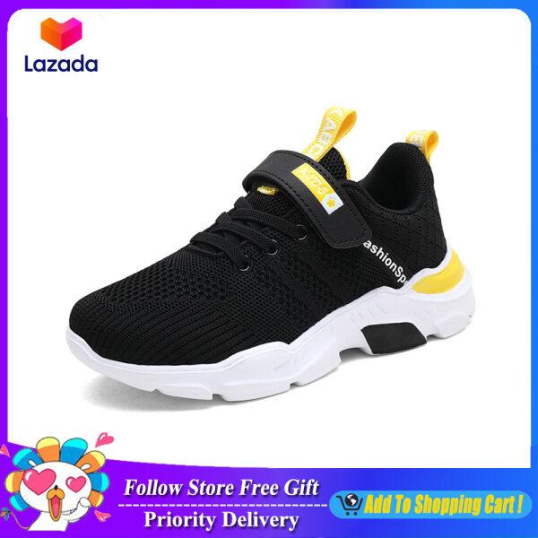 Giày Thể Thao Trẻ Em Thời Trang 2021, Trẻ Em Của Giày, Kid Giày Boy Velcro Thoáng Khí Siêu Ánh Sáng