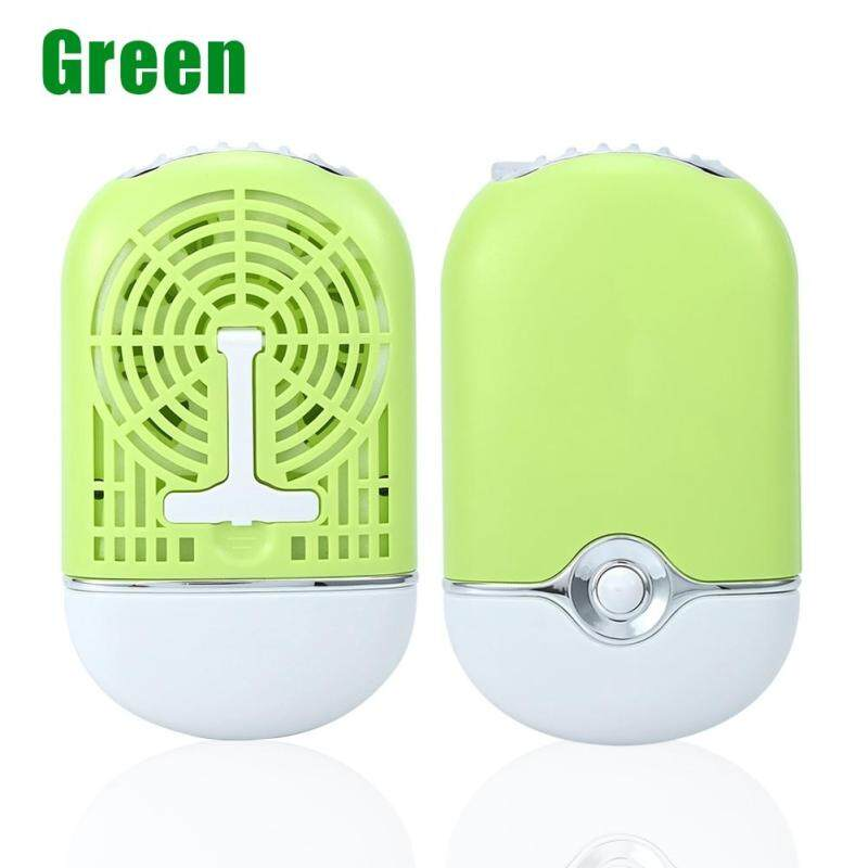 3 Màu Di Động Làm Mát USB Mini Quạt Điều Hòa Lông Mi Mở Rộng Keo Nhanh Khô Công Cụ Màu Xanh Lá Cây