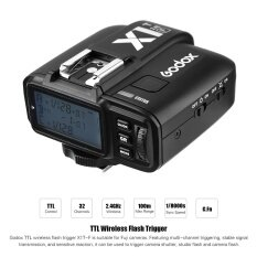 Godox X1T-F 2.4G Wireless TTL Flash Trigger 1/8000s HSS 32 Channels Flash Trigger Transmitter with LCD for Fuji X-Pro2 X-T20 X-T2 X-T1 X-Pro1 X-T10 X-E2 X-A3 X100F X100T Series Cameras
