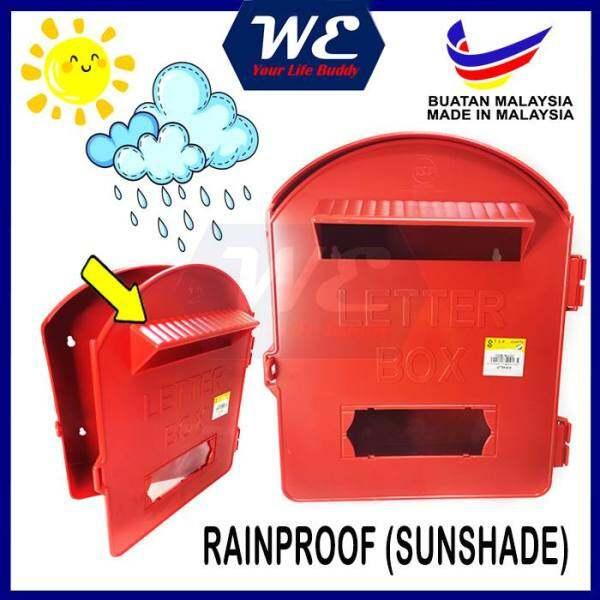 PVC Post Letter Box/ Plastic Mail Box/ Peti Surat Plastik/ Mailbox/ Letterbox READY STOCK