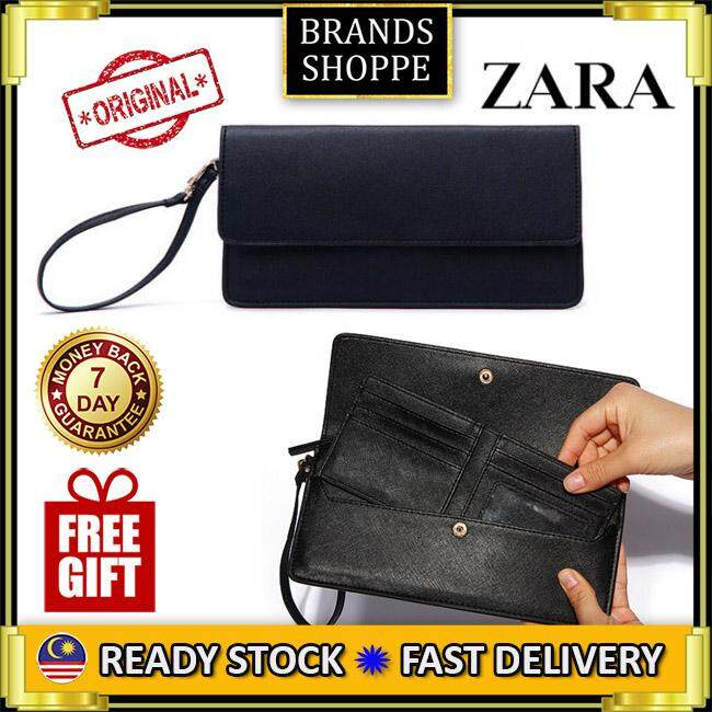 c8bf89dd4b *RAYA SALE*AUTHENTIC ZARA LARGE WRISTLET WITH CARD HOLDER/CLUTCH/ENVELOPE  CLUTCH