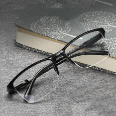 2020 Mới Siêu Nhẹ Vuông Nửa Khung Kính Đọc Sách Kính Viễn Thị Đàn Ông Phụ Nữ