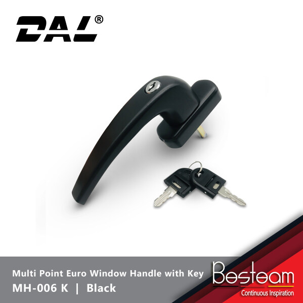 Multi point Euro Window Handle with Key   DAL® MH-006 (KEY)