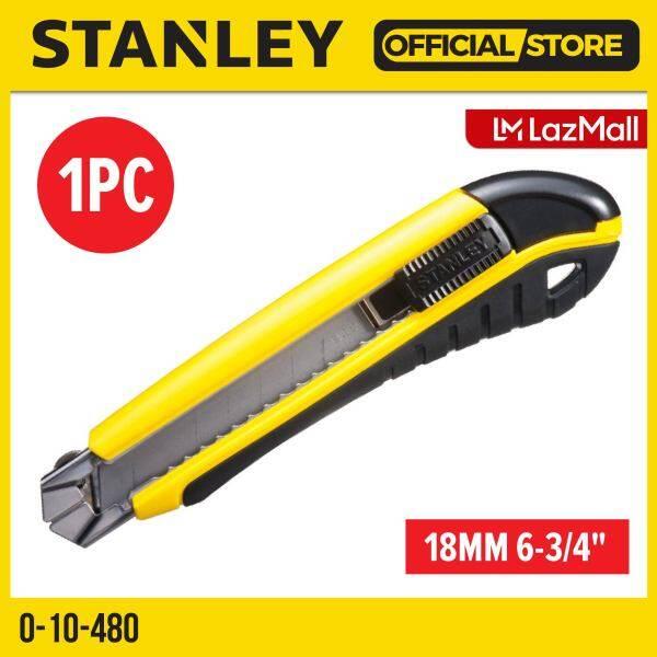 STANLEY 0-10-480 DYNAGRIP SNAP OFF CARTRIDGE BLADE 18MM 6-3/4 (10480)
