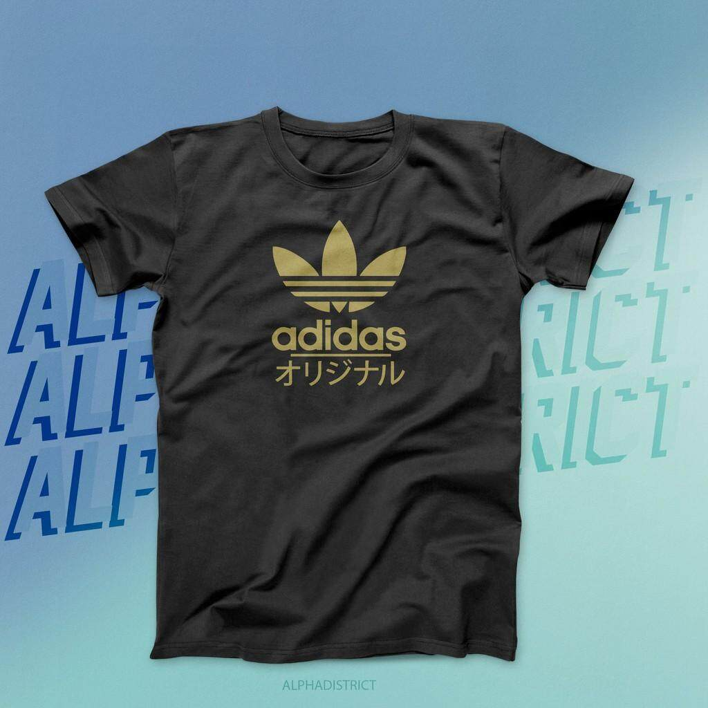 36529fae Casual t-shirt ADIDAS TREFOIL JAPAN GOLD LIMITED EDITION READY STOCK