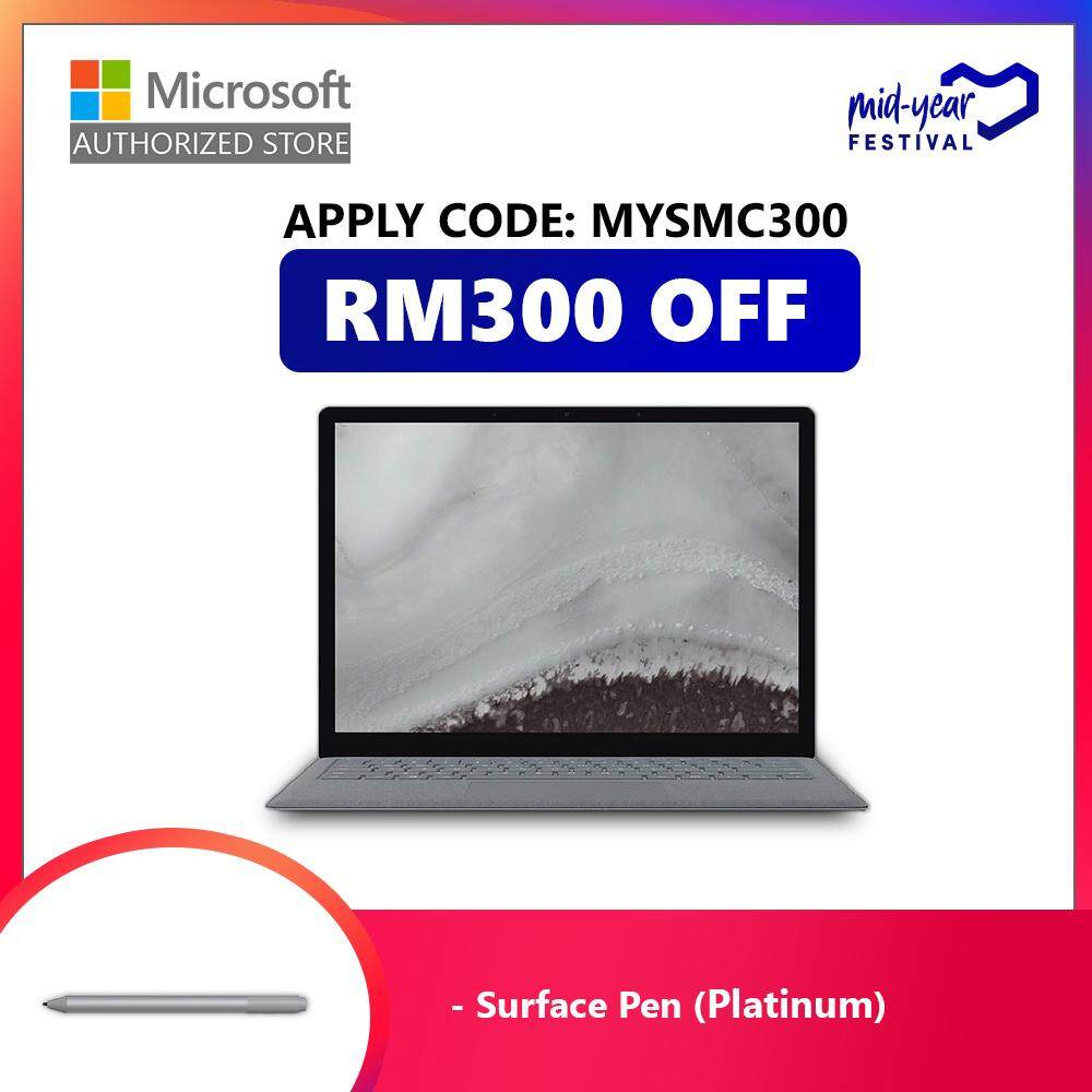 Microsoft Surface Laptop 2 i5/8/128GB + Surface Pen (Black) Malaysia