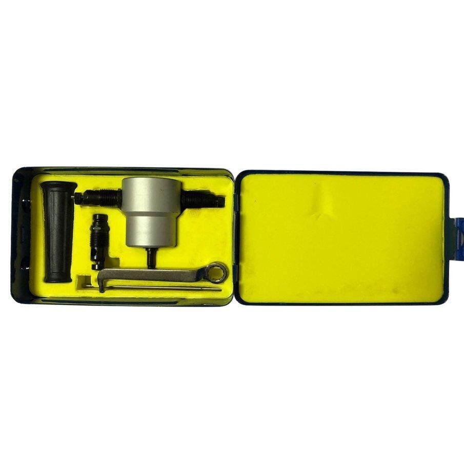 Best Deal Drillpro YT-160A Double Head Sheet Metal Nibbler Cutter Drill Attachment Metal