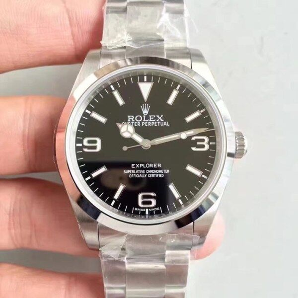 (Special Price) N厂 Noob Factory Rolex_Explorer 214270 SS 904L Black Dial Swiss 2836 Malaysia