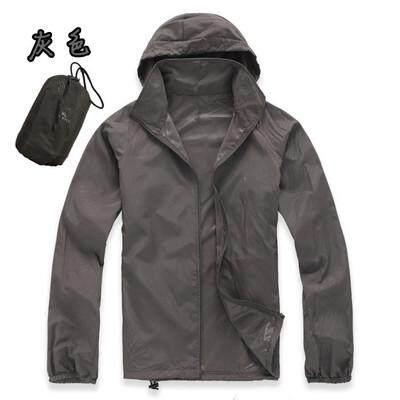 5d3ab91c9d7e0 Jackets Waterproof Sun-Protective Skin Windbreaker Men Women Quick Dry  Hiking