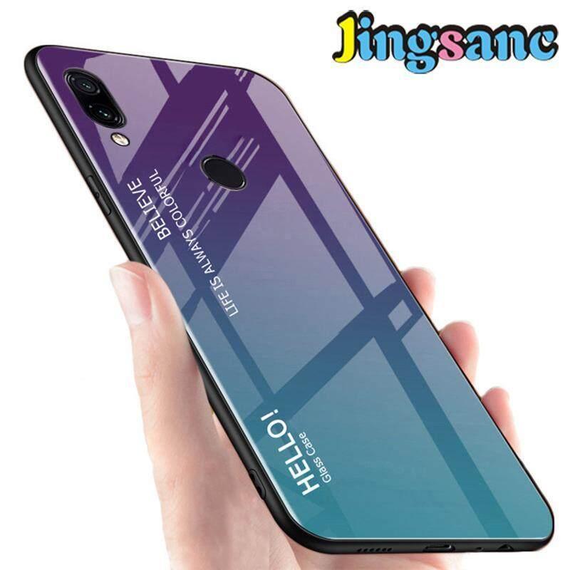 Giá Dành cho Huawei Y9 2019 Ốp Lưng Điện Thoại Thời Trang Cầu Vồng kính đổi màu Đầy Màu Sắc Chống Trầy Xước Ốp viền nhựa TPU mềm Vỏ Bọc