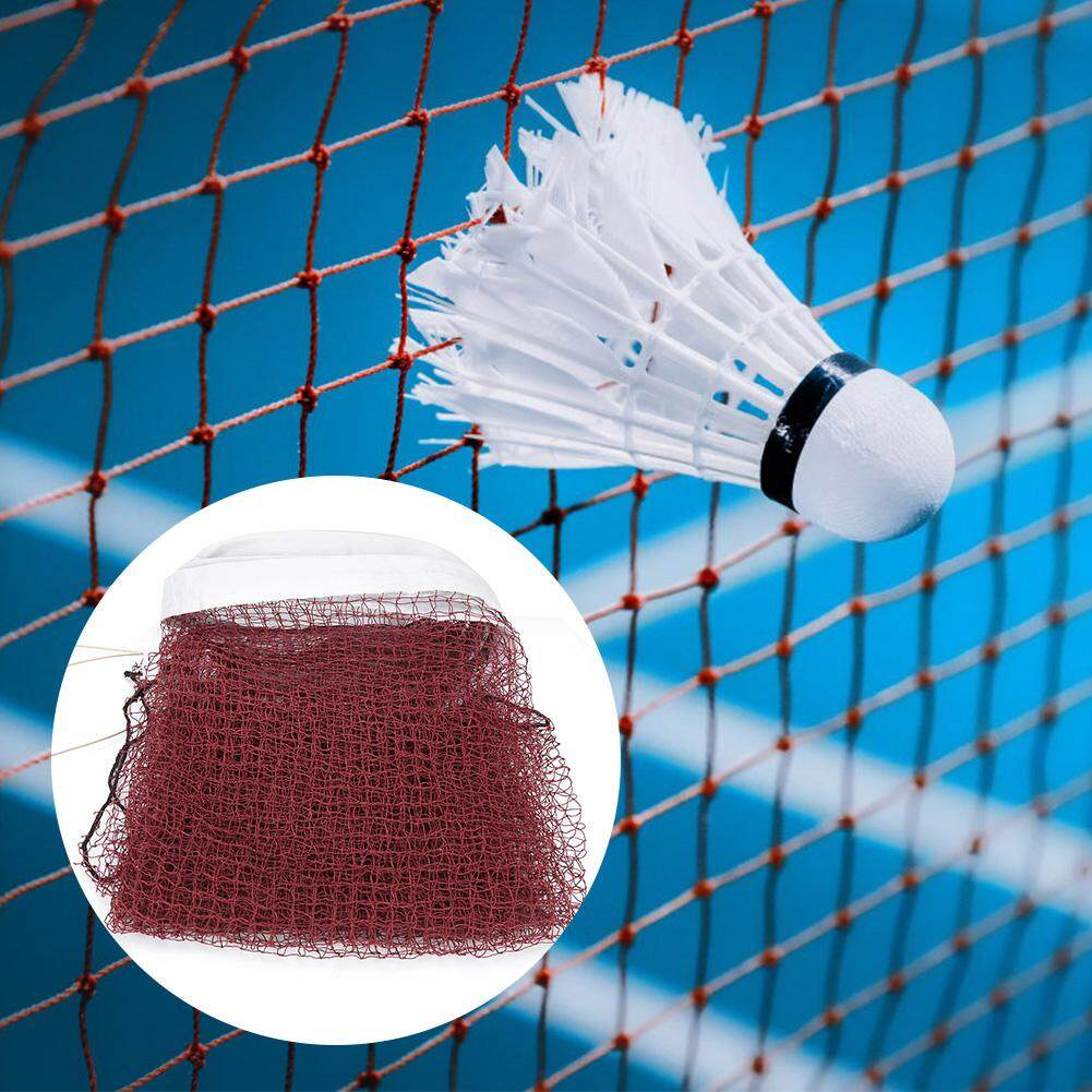 Bảng giá [smili] Durable Red Badminton Net with Rope Cable Top Replacement Training Practicing Accessory