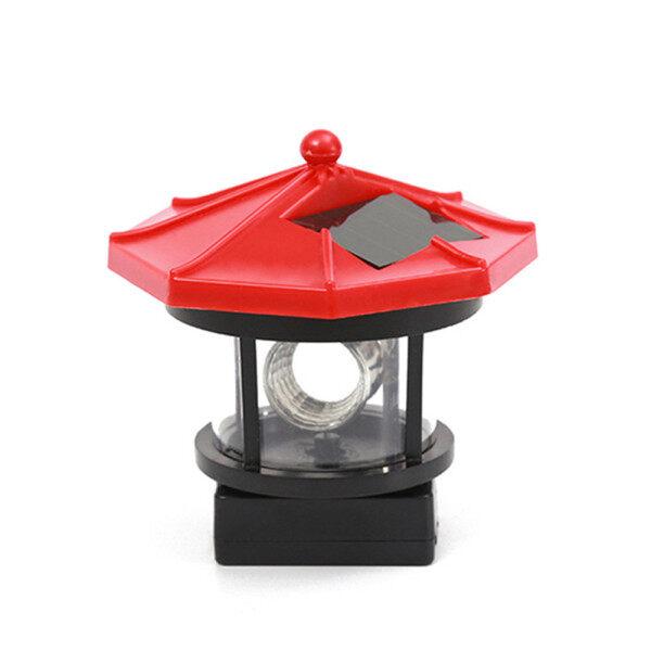 Ronghui Đèn LED Năng Lượng Mặt Trời Đèn Tượng Xoay 360 Độ Chống Nước Để Trang Trí Sân Vườn Ngoài Trời