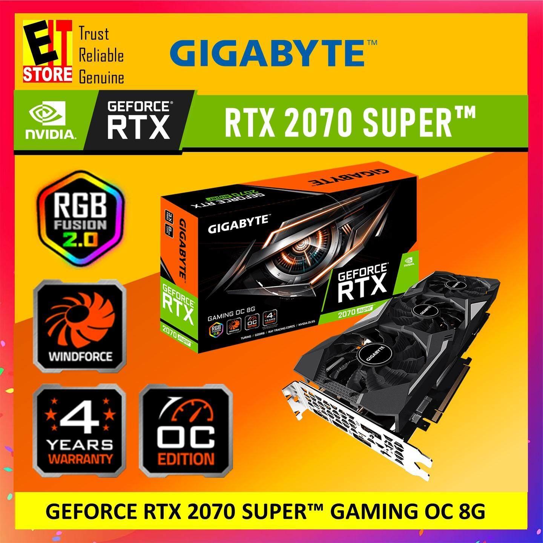 GIGABYTE GEFORCE RTX 2070 SUPER GAMING OC 8G GRAPHIC CARD (GV-N207SGAMING  OC-8GC)