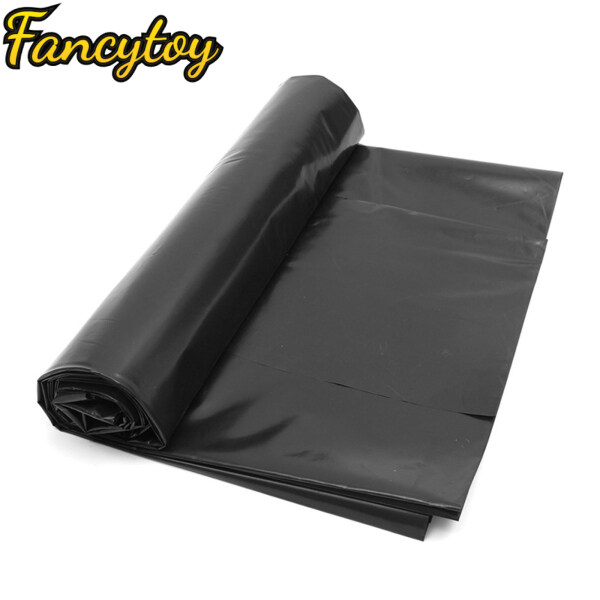 [Fancytoy] Waterproof Liner Cloth Pond Skins Koi Ponds Streams Fountains Black New Landscaping 1.5x3.0m Rubber Garden Pads