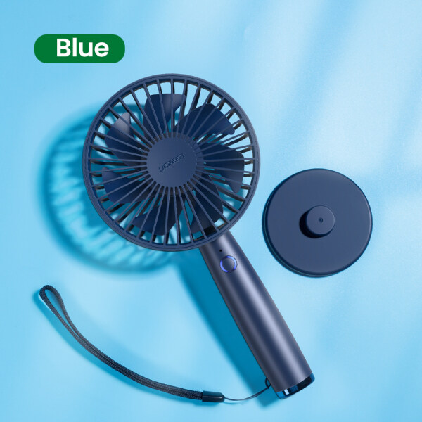 Fan Cooling Electric Mini USB Portable Air Conditioner Fans 2500mAh Small Household Handheld Silent Desk Rechargeable Fan