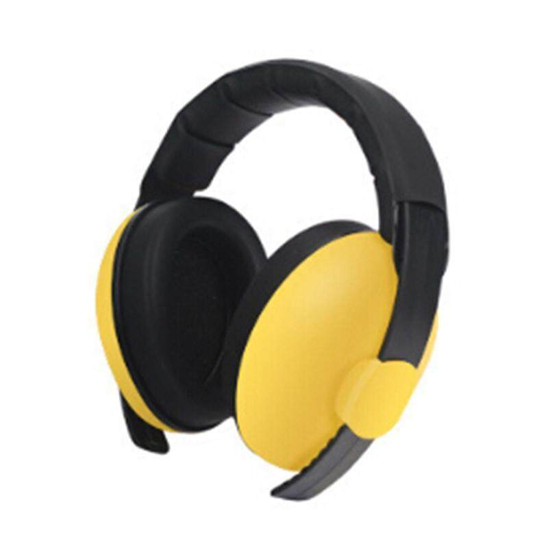 Kids Childs Baby Ear Muff Defenders Noise Reduction Comfort Festival Protection Yellow Variety grace