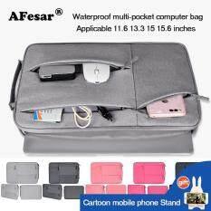 Túi xách laptop 11.6 13.3 15 15.6 inch thích hợp máy tính MacBook Air Pro Retina chất liệu không thấm nước chống trầy chống va đập nhiều ngăn tiện lợi