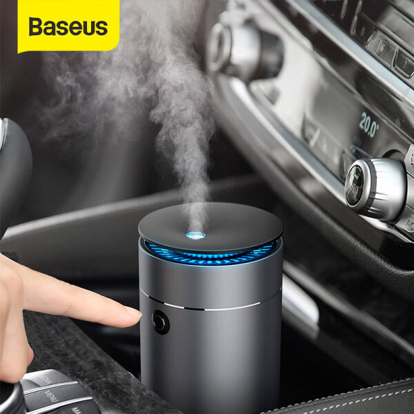 Máy tạo độ ẩm không khí Baseus, Máy khuếch tán tinh dầu thơm cho xe hơi gia đình, máy phun sương USB, có thể tháo rời