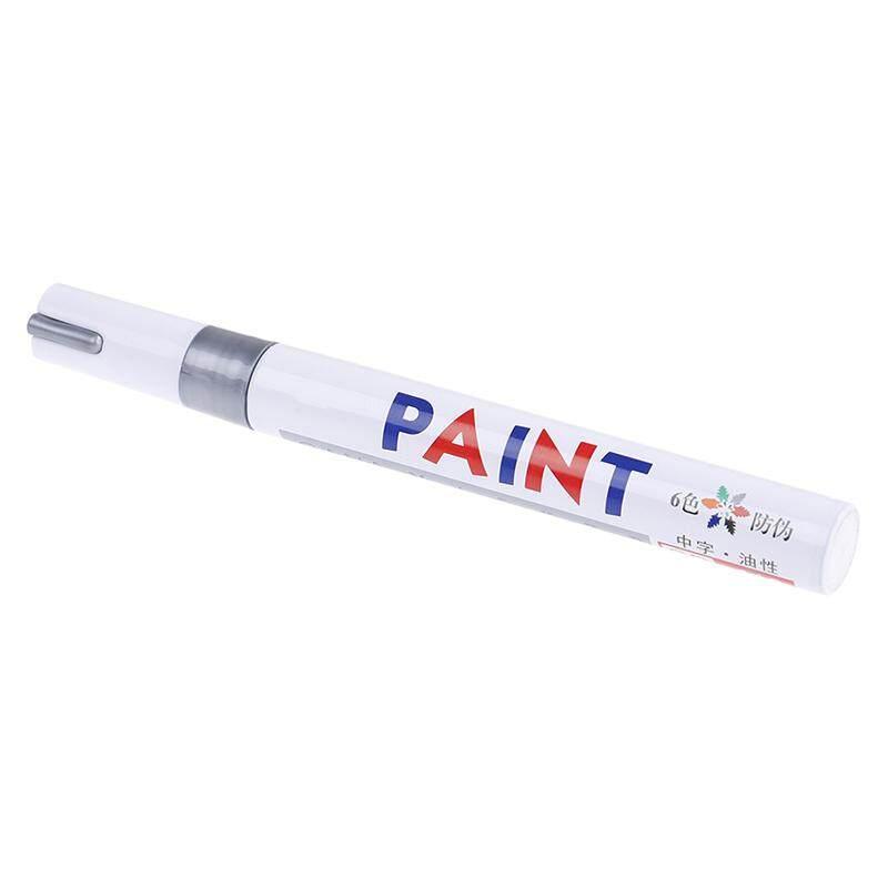 Permanent NEON YELLOW Oil Based Paint Pen Car Bike Tyre Metal Marker waterproof