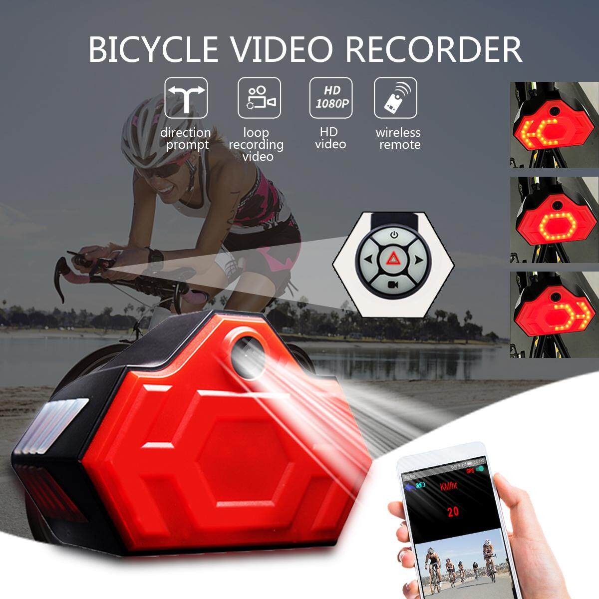 BW-189 1280X1080P Portable Waterproof Outdoor Riding Bicycle Sport Camera Video Recorder DV Camcorder GPS