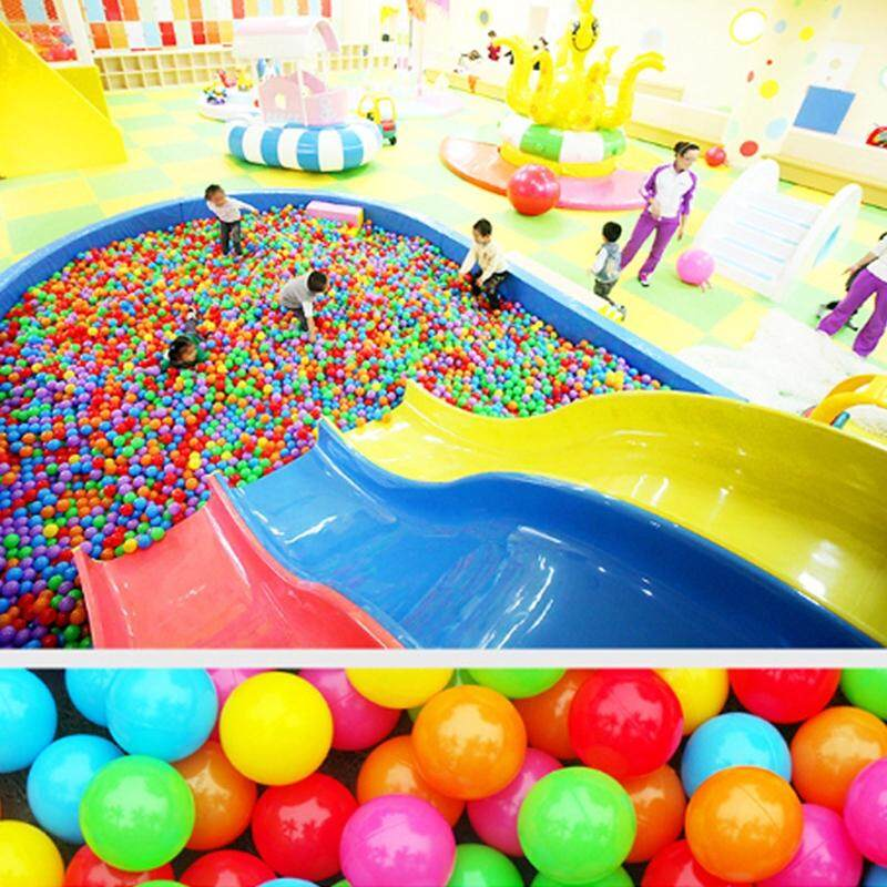 Colorful Ocean Wave Balls Pool Outdoors Baby Kids Soft Toys Swim 100pcs Toy Ball By Smileface.