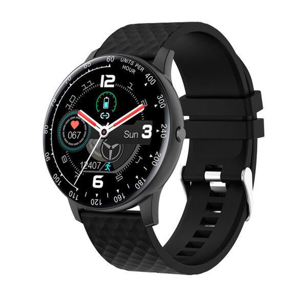 (Fantnesty) 2020 New H30 DIY Smart Watch IP67 Waterproof Sport Bluetooth Smartwatch Fitness for men women best seller on sale Abs black Malaysia