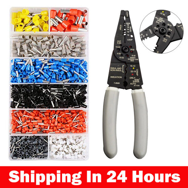 TTLIFE Wire Cutter and Wire Stripper, Stranded Wire Cutter, Solid Wire Cutter, Cuts Copper Wire
