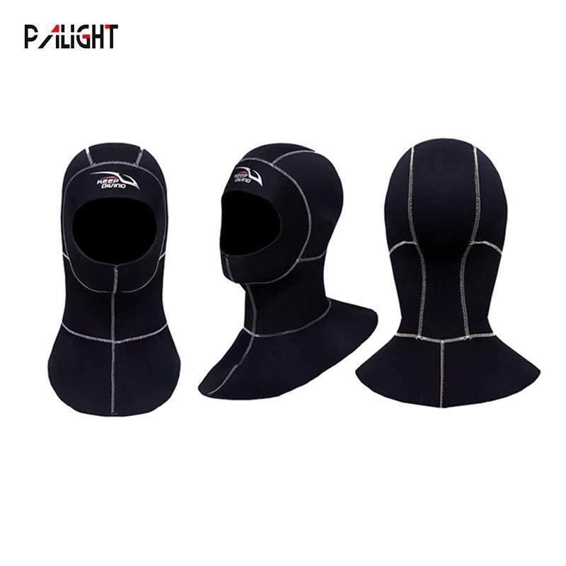 PAlight 3MM Neoprene Lặn biển Hood với Vai Lặn Mũ Trùm Đầu - 6