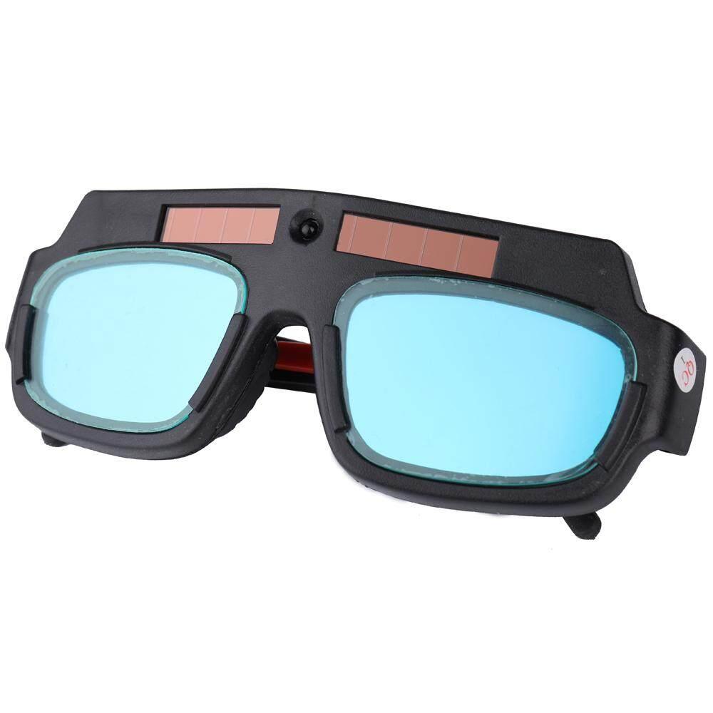 Solar Energy Auto Darkening Welding Safety Goggles Anti UV Weld Professional Glasses Protect Eyes