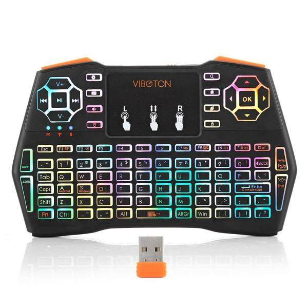 *LOCAL STOCK* i8 Plus 2.4Ghz Mulit Colors Mini Keyboard Wireless Fly Air Mouse Touchpad Keyboard For Pc, Pad, Xbox 360, Ps3, Google Android Tv Box, Htpc, Iptv Malaysia