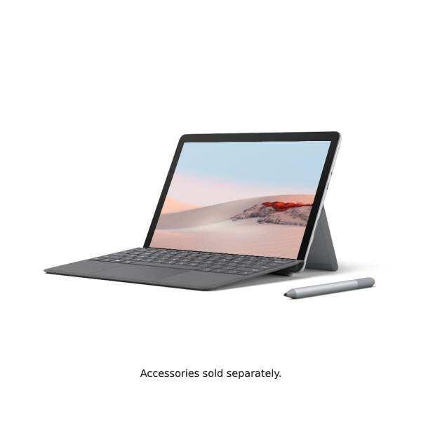 [Bundle] Microsoft Surface Go 2 (Intel 4425Y/8GB/128GB) - Platinum + Type Cover Malaysia