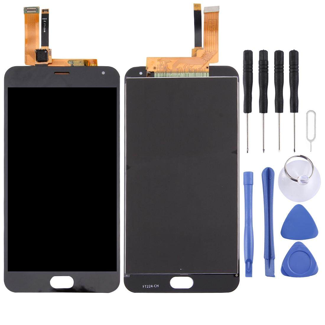 Untuk Meizu M2 Catatan/Meilan Note 2 Layar LCD dan Digitizer Penuh Perakitan (Hitam)