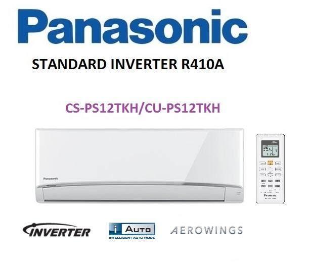 Panasonic 1.5HP Standard Inverter Air Conditioner R410A AERO Series CS-PS12TKH & CU-PS12TKH