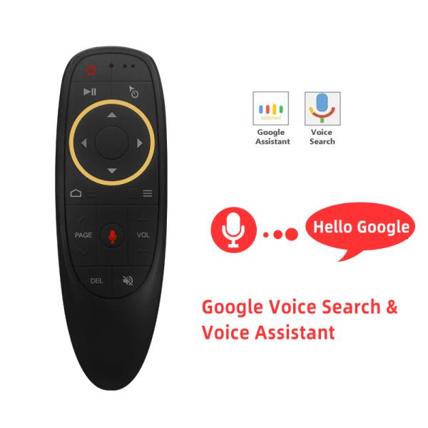 Chuột Bay Không Dây 2.4G, Con Quay Hồi Chuyển IR Học Tập Thông Minh Bằng Giọng Nói, Bàn Phím Con Quay Hồi Chuyển Điều Khiển Từ Xa Cho Máy Tính Android T V Box