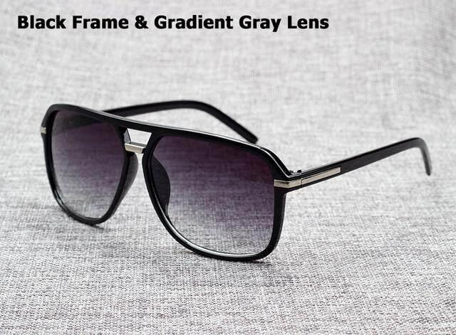 640bb6f74e716 JackJad 2018 New Fashion Men Cool Square Style Gradient Sunglasses Vintage  Brand Design Cheap Sun Glasses