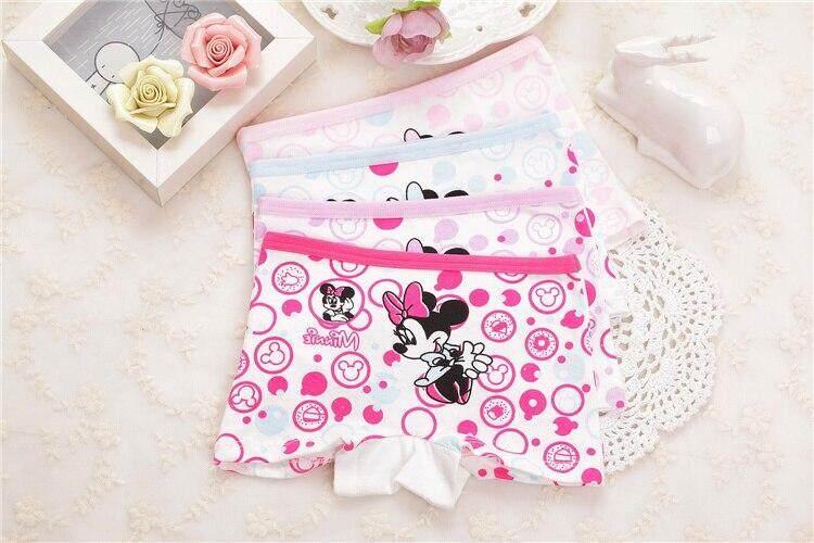 0490f6ae9b82 Wholesale(4pcs/lot) Cute Design Girl Underwear, Cotton Shorts Briefs For  Children