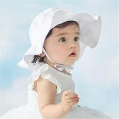 Cho bé Mùa Hè Ngoài Trời Nón Trẻ Em Họa Tiết Panama Nắp Mặt Trời Bãi Biển Mũ Ren Công Chúa miếng Vải
