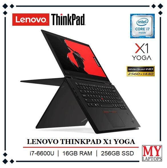 LENOVO THINKPAD X1 CARBON YOGA [CORE i7-6600U TURBO BOOST 2.81GHz / 16GB DDR4 / 256GB SSD / 14  WQHD (2560 x 1440) IPS {TOUCHSCREEN}/ ULTRABOOK / WINDOWS 10 PRO Malaysia