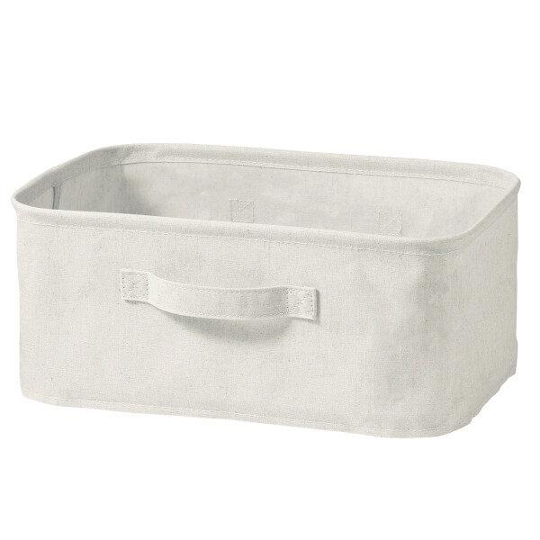 MUJI Storage Item /Cotton Linen Poly Softbox Rectangular
