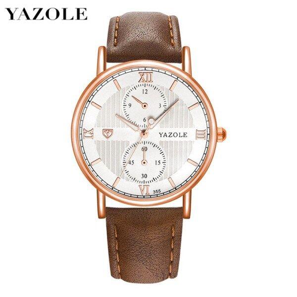 YAZOLE 355 Top Luxury Brand Watch For Man Fashion Sports Men Quartz Watches Trend Wristwatch Gift For Male jam tangan lelaki Malaysia
