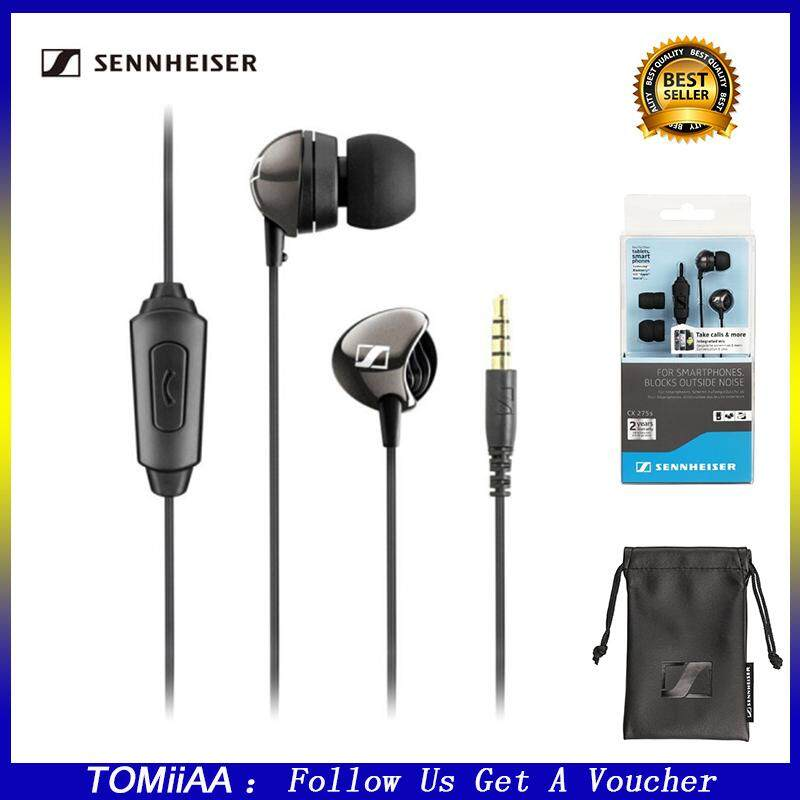 41ee8666f6e [100% Original]Sennheiser CX 275S Universal Mobile Headset Wired In Ear  Headphone With